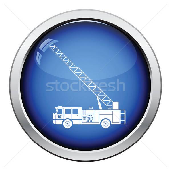 Fire service truck icon Stock photo © angelp