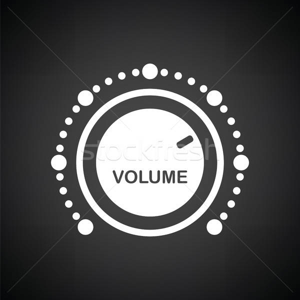 Volume control icon Stock photo © angelp