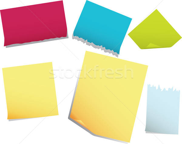 note pages Stock photo © angelp