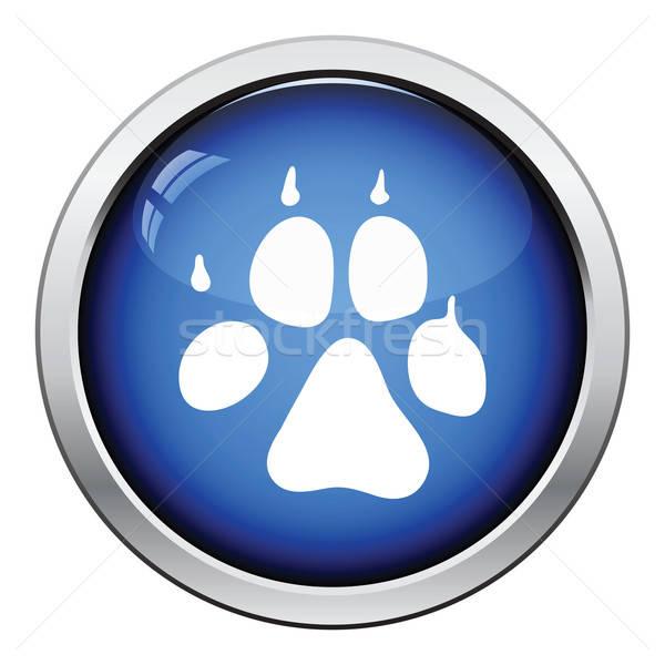 Сток-фото: собака · тропе · икона · кнопки · дизайна