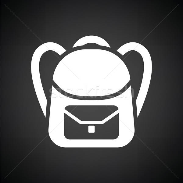 School rucksack  icon Stock photo © angelp