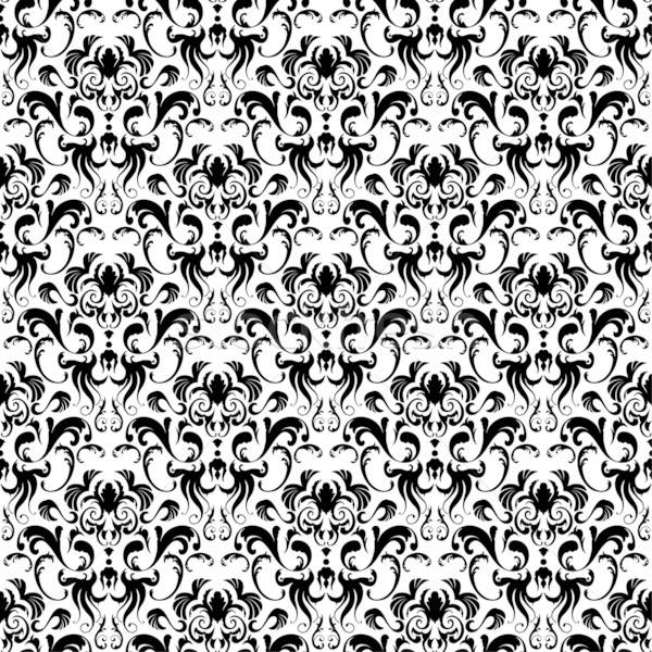 дамаст бесшовный вектора шаблон легкий Сток-фото © angelp