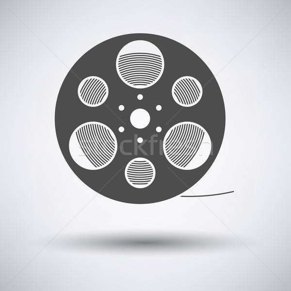Film reel icon Stock photo © angelp