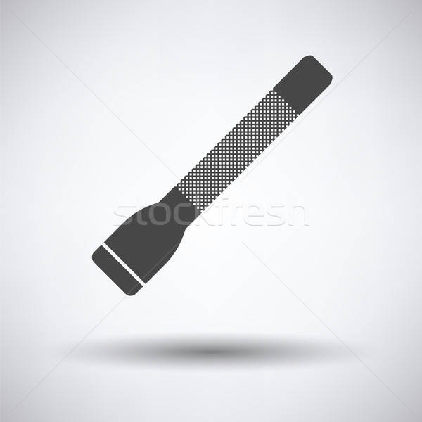 Police flashlight icon Stock photo © angelp