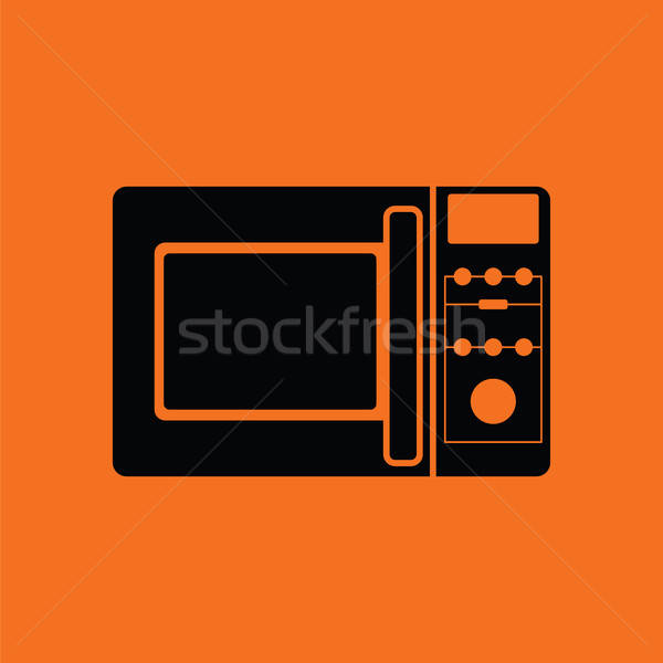 Micro wave oven icon Stock photo © angelp