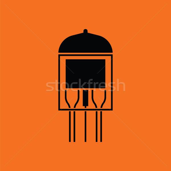Electronic vacuum tube icon Stock photo © angelp