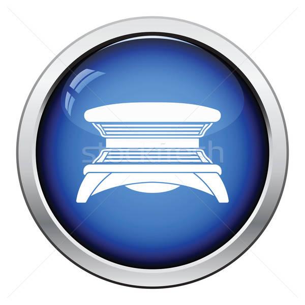 солярий икона кнопки дизайна моде Сток-фото © angelp