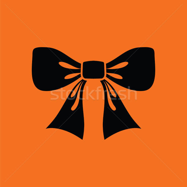 Party bow icon Stock photo © angelp