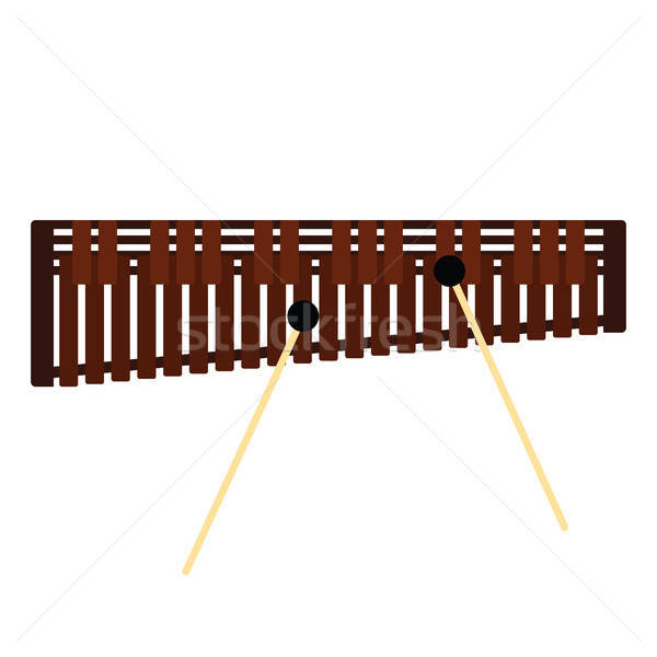 木琴 アイコン 色 デザイン コンサート おもちゃ ストックフォト © angelp