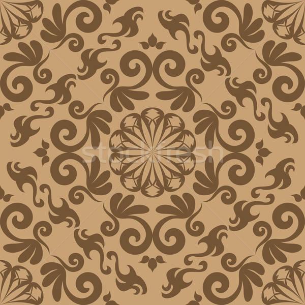 Damast naadloos ontwerp gemakkelijk Stockfoto © angelp