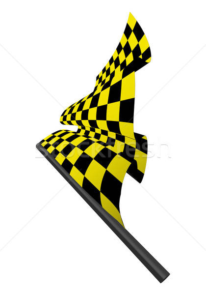 checked flags Stock photo © angelp