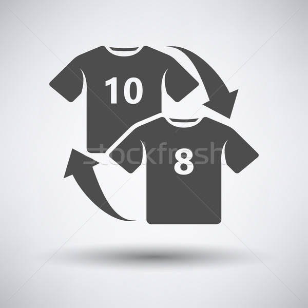 Soccer replace icon  Stock photo © angelp