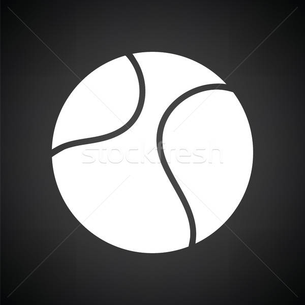 Tennis ball icon Stock photo © angelp