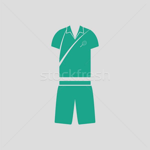 Tennis man uniform icon Stock photo © angelp