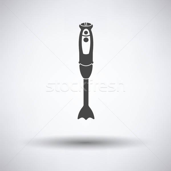 Hand blender icon Stock photo © angelp