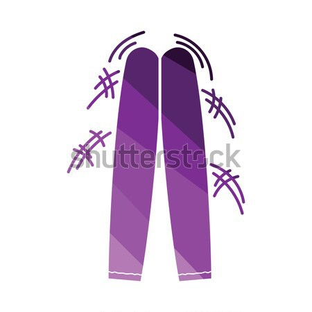 Football fans clapping sticks icon.  Stock photo © angelp