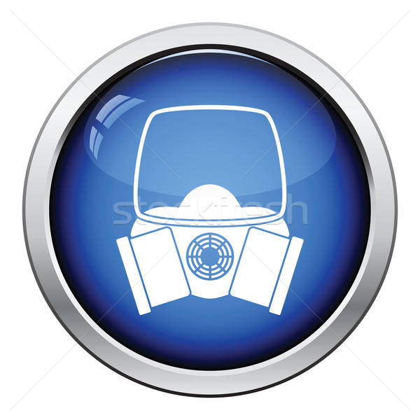 Icon of chemistry gas mask Stock photo © angelp