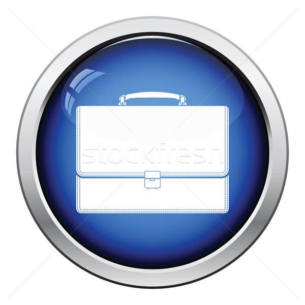 Suitcase icon Stock photo © angelp