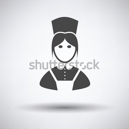 Nurse costume icon Stock photo © angelp