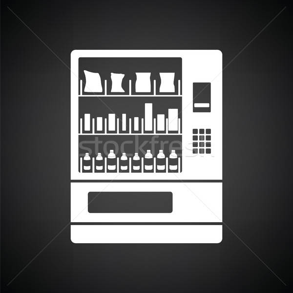 Food selling machine icon Stock photo © angelp