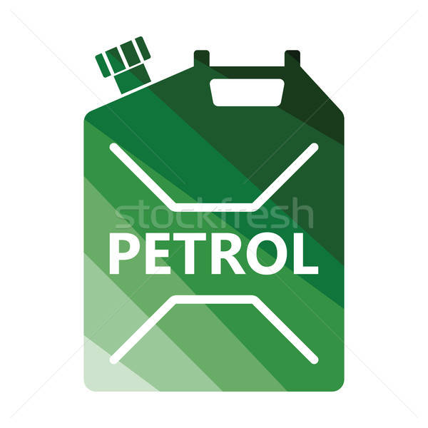 топлива икона цвета дизайна автомобилей бутылку Сток-фото © angelp