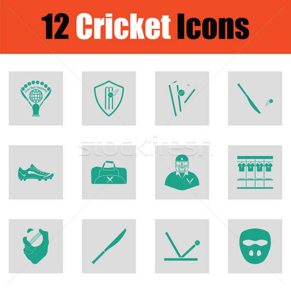 крикет зеленый серый дизайна комнату Сток-фото © angelp