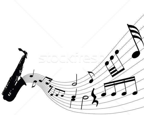 musical background Stock photo © angelp