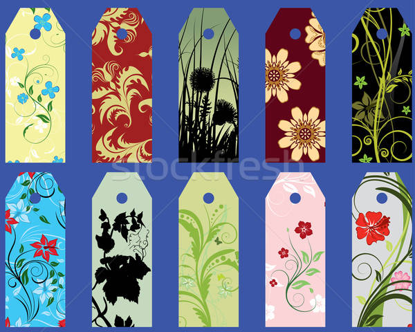 set of bookmarks Stock photo © angelp