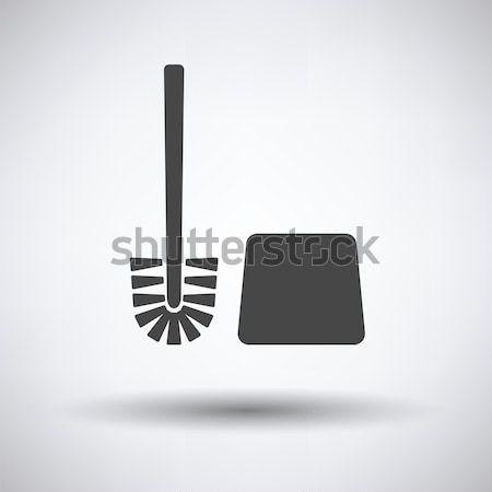 Toilet brush icon Stock photo © angelp