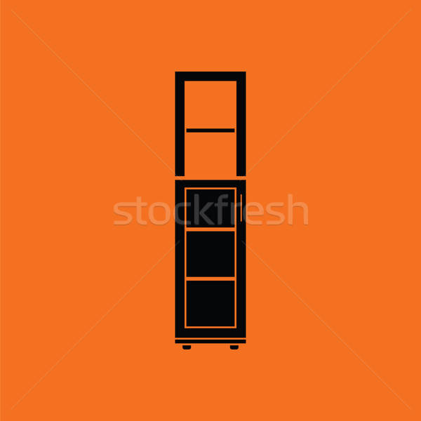 Narrow cabinet icon Stock photo © angelp
