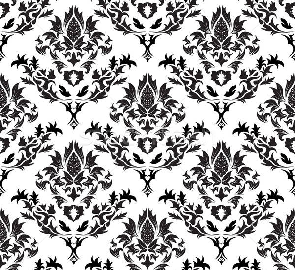 damask seamless background Stock photo © angelp