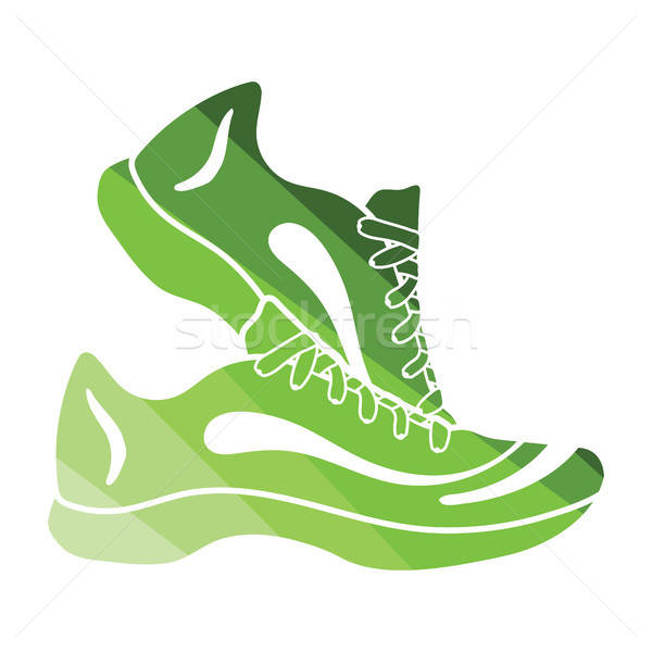 Fitness sneakers icon Stock photo © angelp