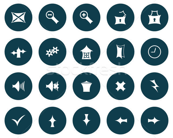 Ayarlamak Gotik simgeler toplama farklı web tasarım Stok fotoğraf © angelp