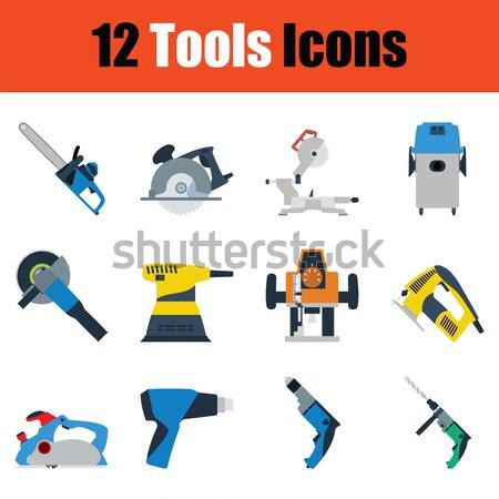 Diseno herramientas ui colores arma Foto stock © angelp