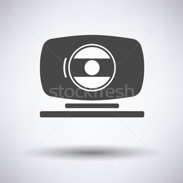 Webcam icon Stock photo © angelp