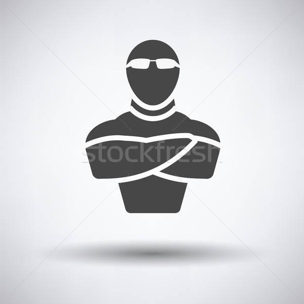 Night club security icon Stock photo © angelp
