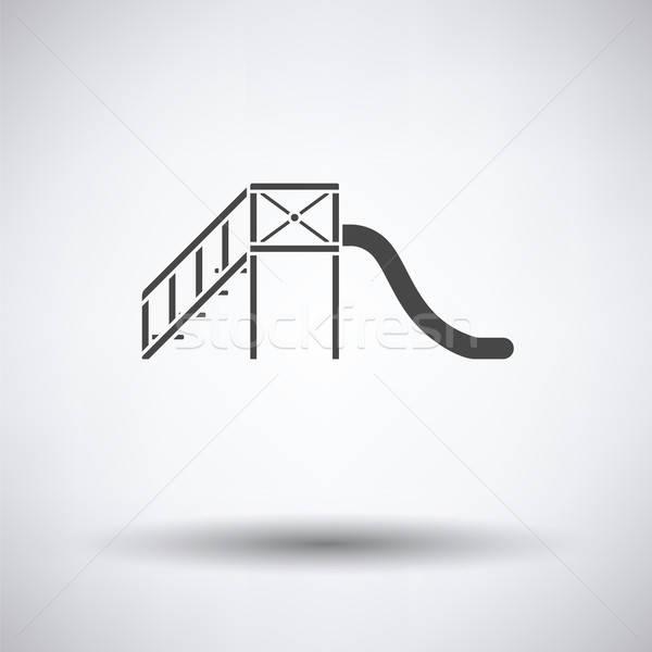 слайдов икона школы ребенка фон скорости Сток-фото © angelp