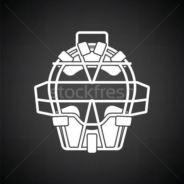 Baseball face protector icon Stock photo © angelp