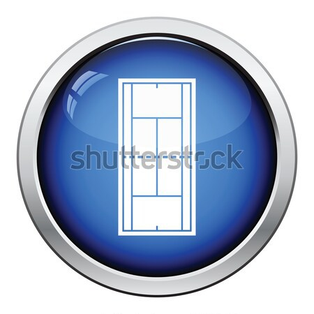 Wardrobe with mirror icon Stock photo © angelp