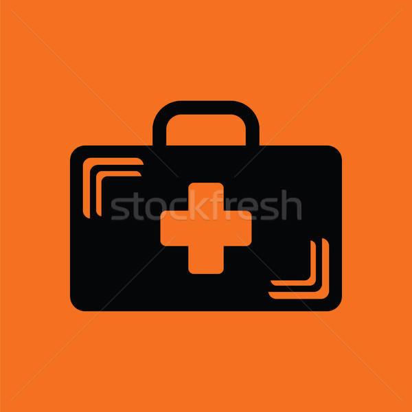 Medical case icon Stock photo © angelp