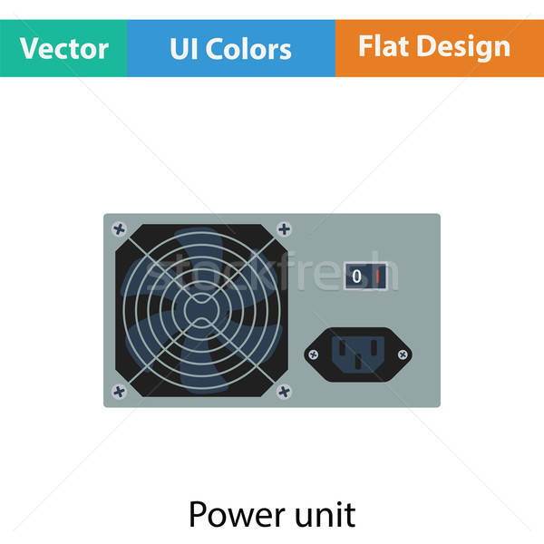 Power unit icon Stock photo © angelp