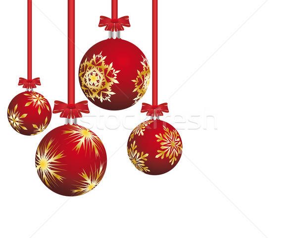 Рождества красивой вектора Новый год дизайна природы Сток-фото © angelp