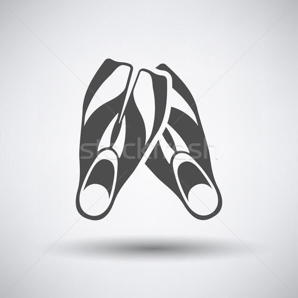Swimming Flippers Icon  Stock photo © angelp