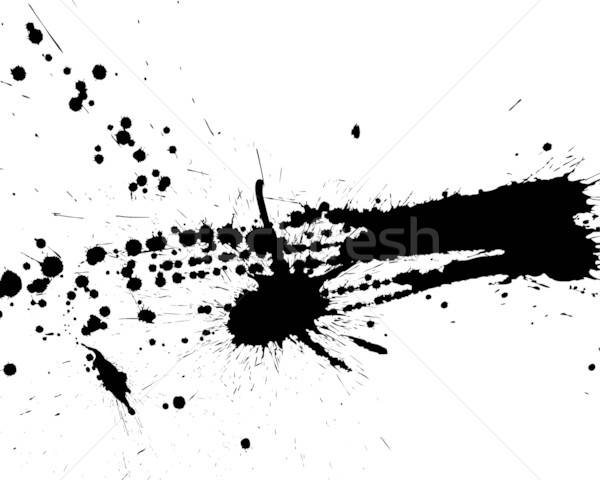 Stock photo: grunge vector background