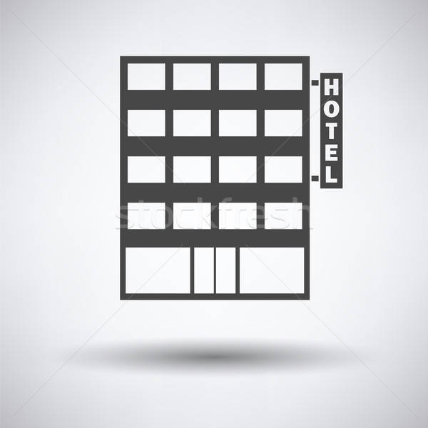 Hotel building icon Stock photo © angelp