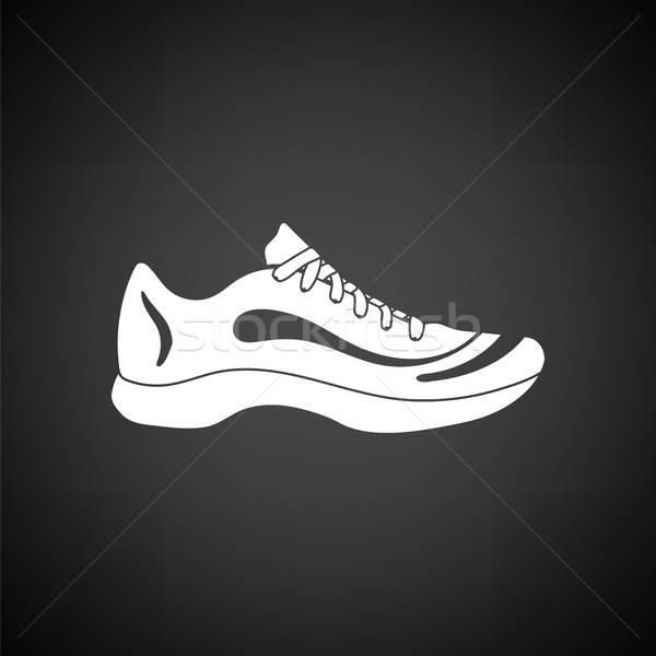 Sneaker icon Stock photo © angelp