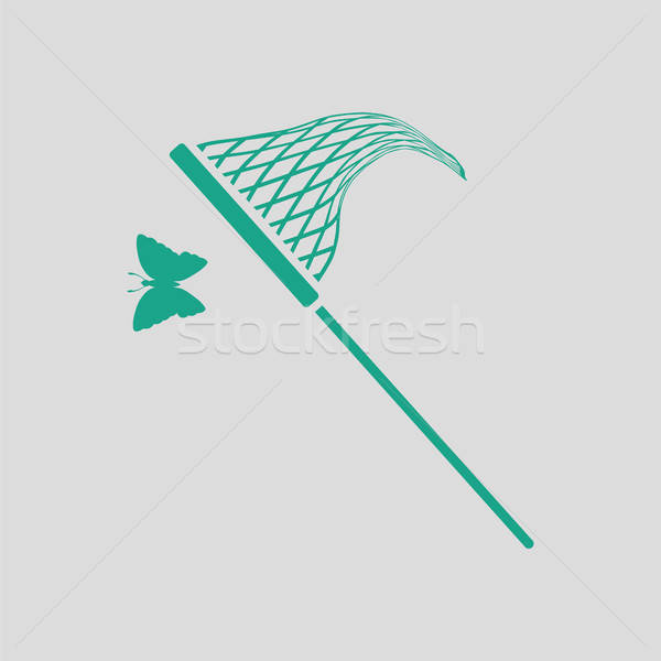 Butterfly net  icon Stock photo © angelp