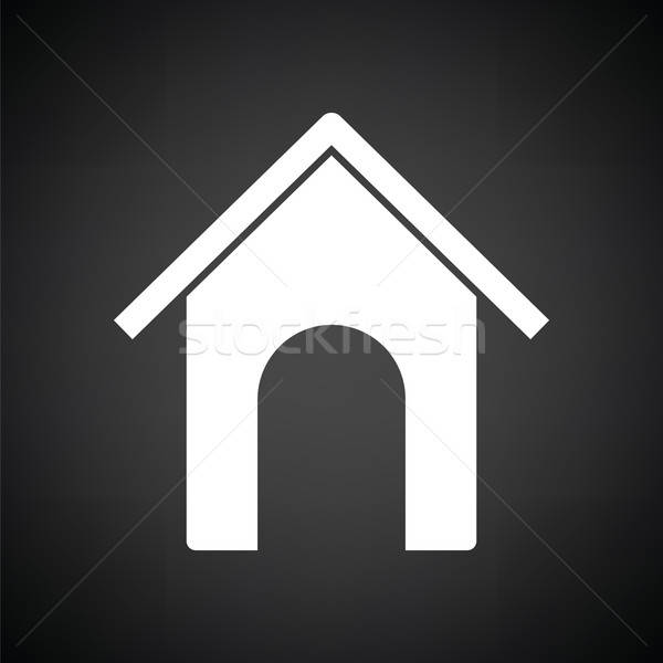 Dog house icon Stock photo © angelp