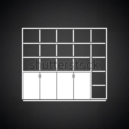 Office cabinet icon Stock photo © angelp