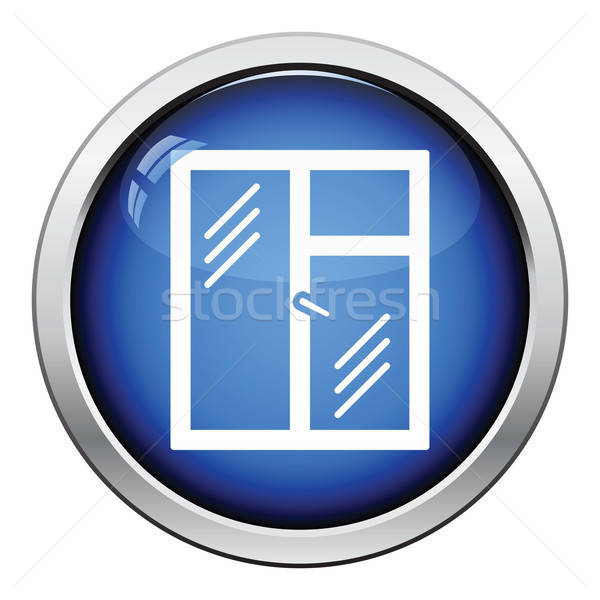Icon of closed window frame Stock photo © angelp